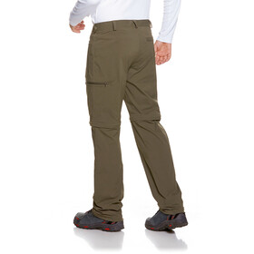 Tatonka Mariso Pantalon convertible par zip Homme, bark green